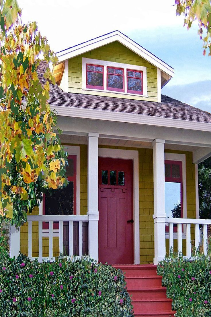 tinyhomescost Bungalow style house plans Small house pictu