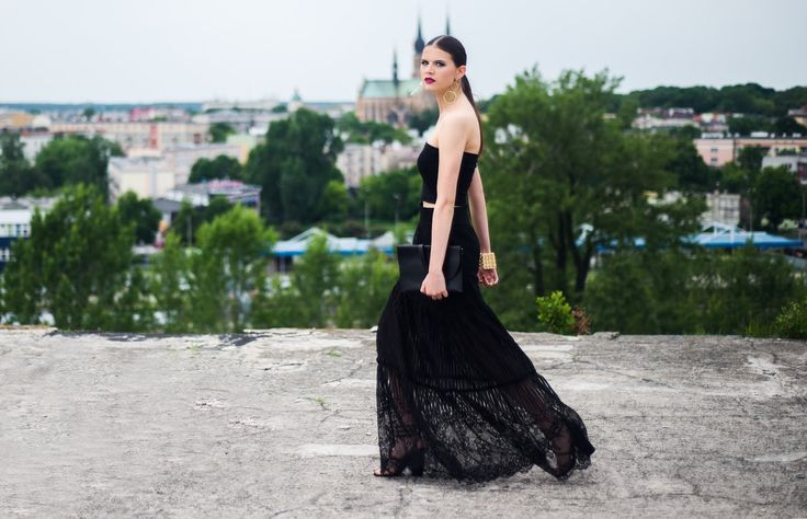 lace maxi skirt | My White Sugar