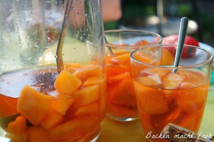 Mango-Aperol-Bowle
