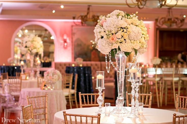 Reception venue: The Rosewood Mansion at Turtle Creek, Dallas. small and intimate.