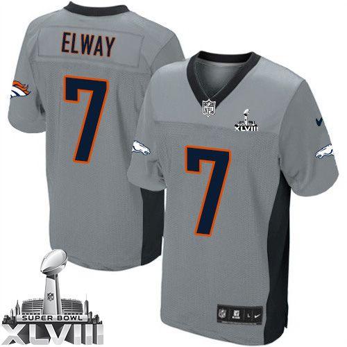 outlet store 5d41f e7d2a elite john elway mens jersey denver broncos 7 super bowl ...