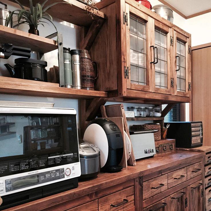 山善/セリア/ダイソー/カフェ風インテリア/手作り/DIY…などのインテリア実例 - 2016-03-19 09:49:54 | RoomClip(ルームクリップ)