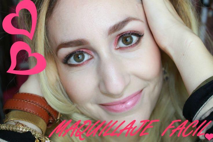 Maquillaje para San Valentín facil ♥ (+lista de reproducción) #maquillajefacilparasanvalentin #maquillaje14defebrero #maquillaje2014 #maquillajededia