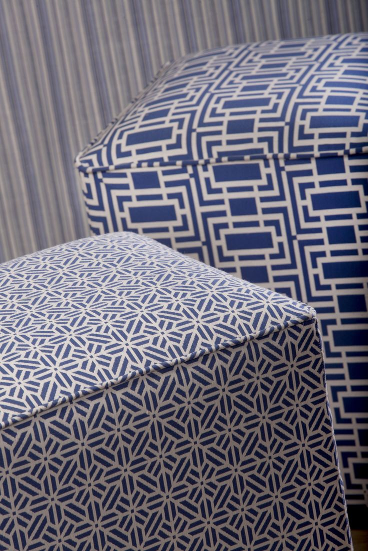 Blue Horizon, Collection of furnishing fabrics from Svenmill Ltd
