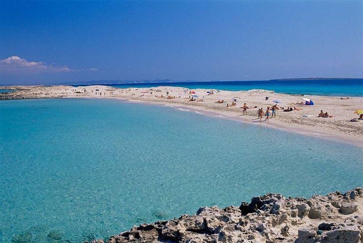 Playa de ses Illetes (Formentera, Islas Baleares)