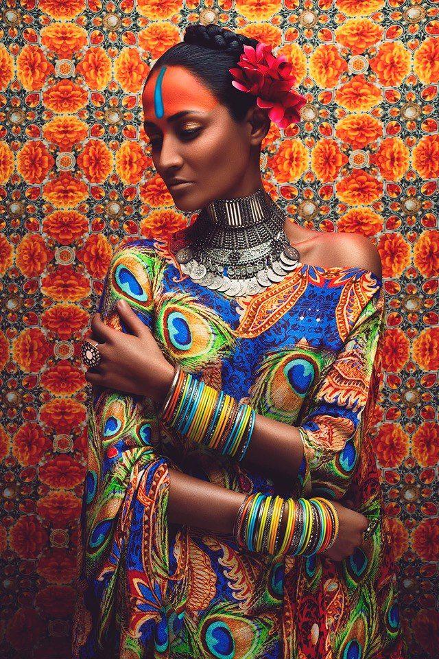 Kundalini Arts Shoot by Anushka Menon - Indo Afro Style