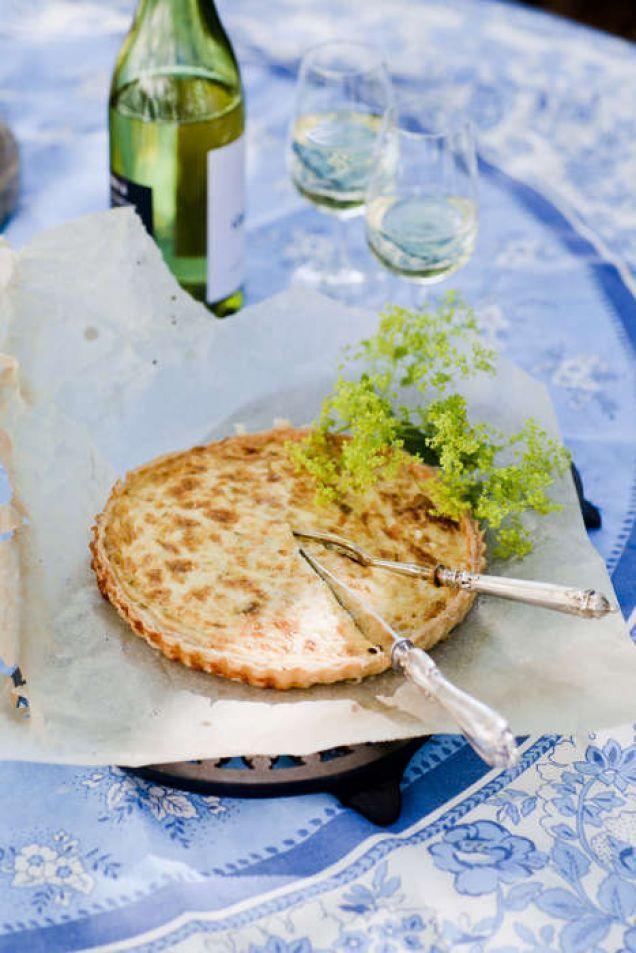 Västerbottenspaj med purjo och bacon - Recept från Mitt kök - Mitt Kök | Recept | Mat | Bloggar | Vin | Öl
