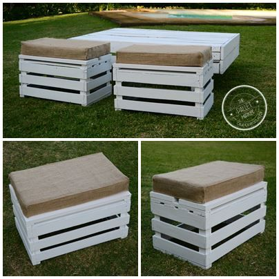 Banquetas Pallet Wood Madera Recilado The Pallet Market Cajon de Verduras https://www.facebook.com/pages/The-Pallet-Market-Objetos-Reciclados/522251634524492?ref=hl