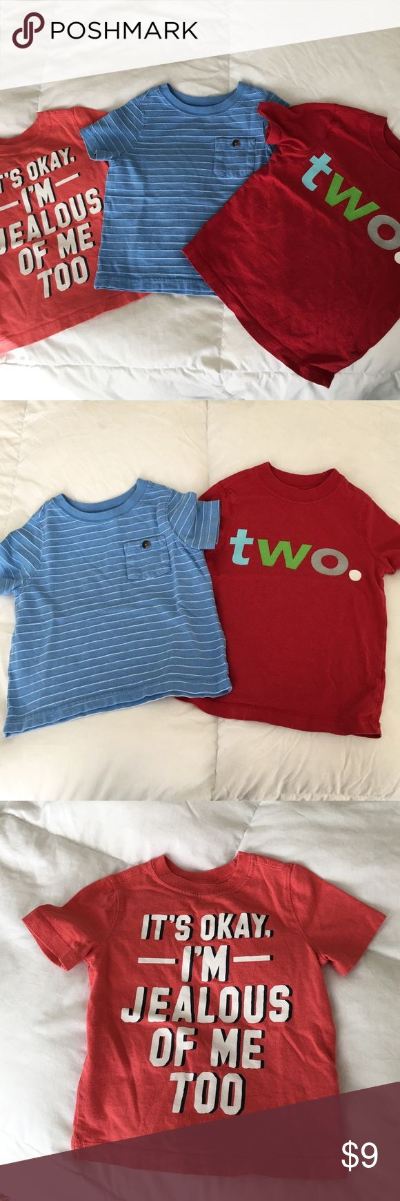 Old Navy Tees Toddler Old Navy Tee Bundle. 2 2t shirts; 1 3t shirt that fits like 2t. Old Navy Shirts & Tops Tees - Short Sleeve