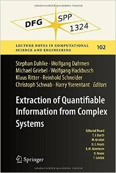 Extraction Of Quantifiable Information From Complex Systems PDF