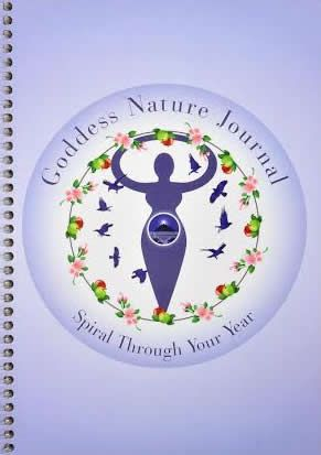 Goddess Nature Journal so that you can journal through the wheel of the year