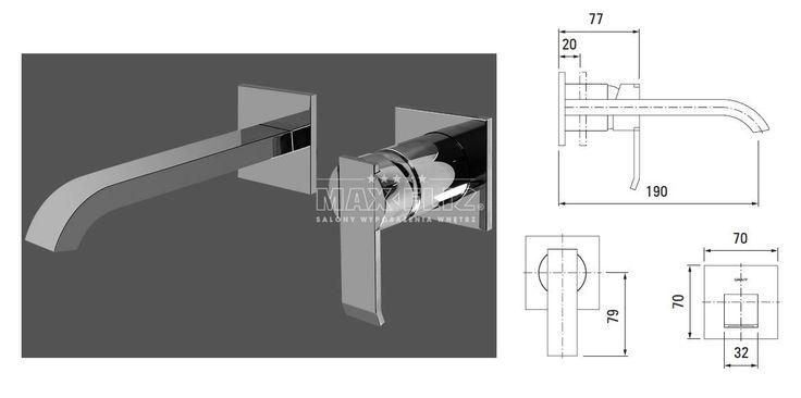 Graff Qubic bateria umywalkowa podtynkowa 2371000 - Baterie umywalkowe - wyposażenie wnętrz Max-Fliz