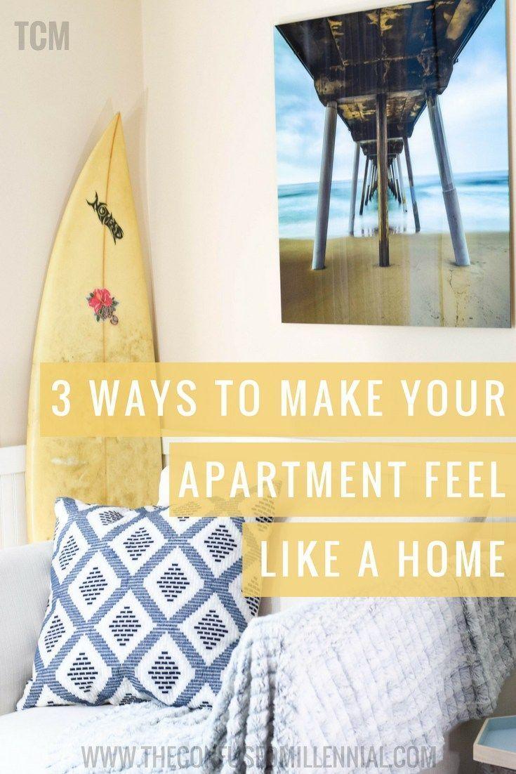 3 Ways Millennials Can Make An Apartment
