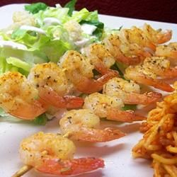 Spicy Lime Grilled Shrimp Recipe on Yummly