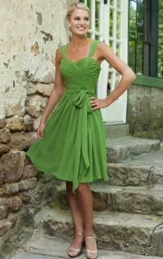 cute green short bridesmaid dress under 100 - queeniebridesmaid