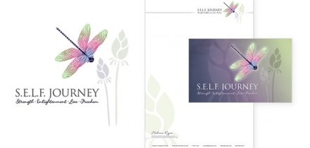 Healthcare stationery design.  www.wellsites.com.au