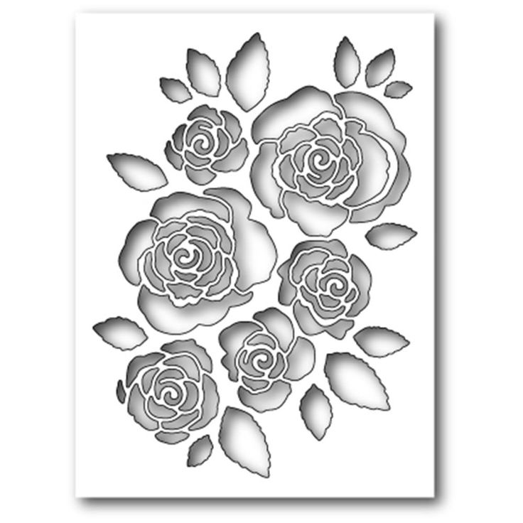 Wykrojnik Memory Box - English Rose Collage