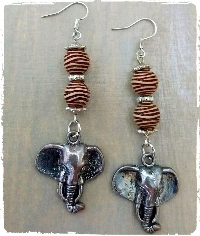 Oorbellen olifant