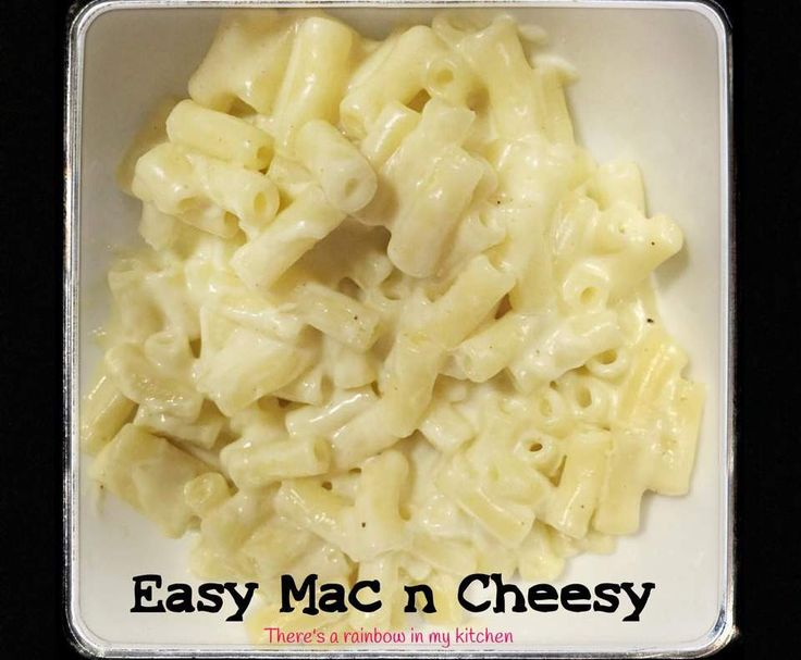 Recipe Easy Mac n Cheesy Macaroni and Cheese by There's a rainbow in my kitchen - Recipe of category Pasta & rice dishes