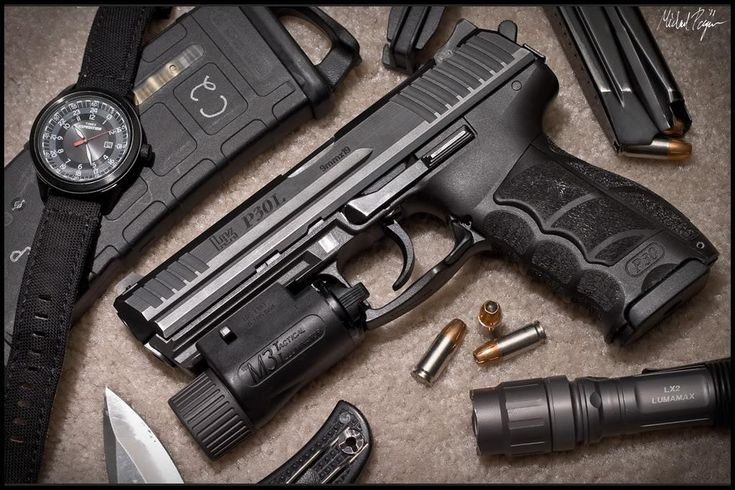 Heckler and Koch P30...a great gun...EDC every day carry gear