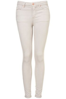 Love the stoney color. . . MOTO Bone Supersoft Skinny Leigh Jeans
