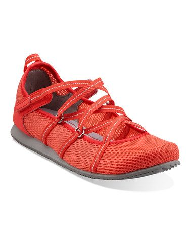 Coral Poppy Bloom Athletic Shoe - Women by Clarks