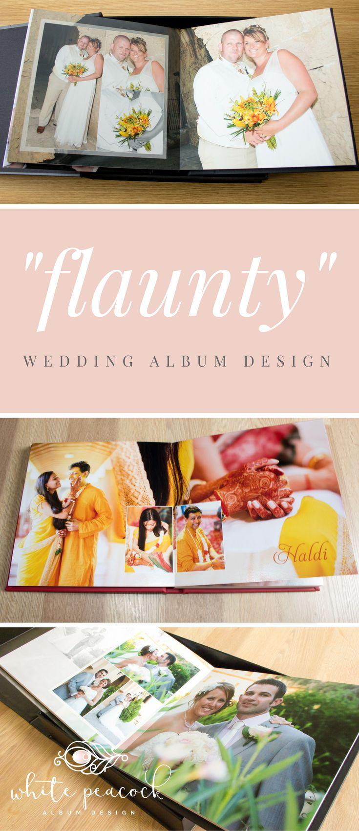 23 best Bespoke Wedding Album Design by White Peacock images on