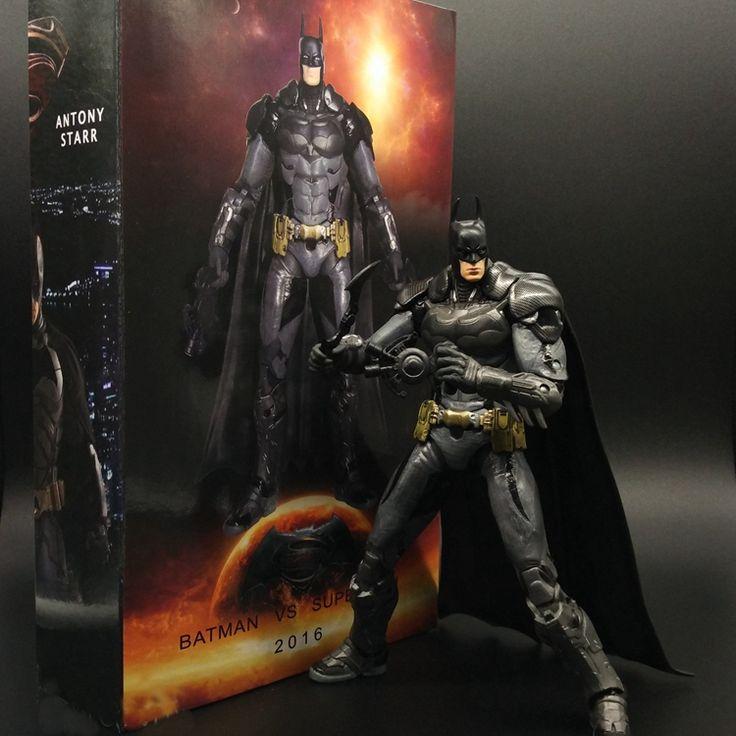 17.43$  Watch now - http://aligrl.shopchina.info/1/go.php?t=32709566993 - SAINTGI Juguetes DC Superman V Batman Second Earth Comic Marvel The Dark Knight Mc Batman Super Hero Aptain PVC 17cm Predators  #bestbuy