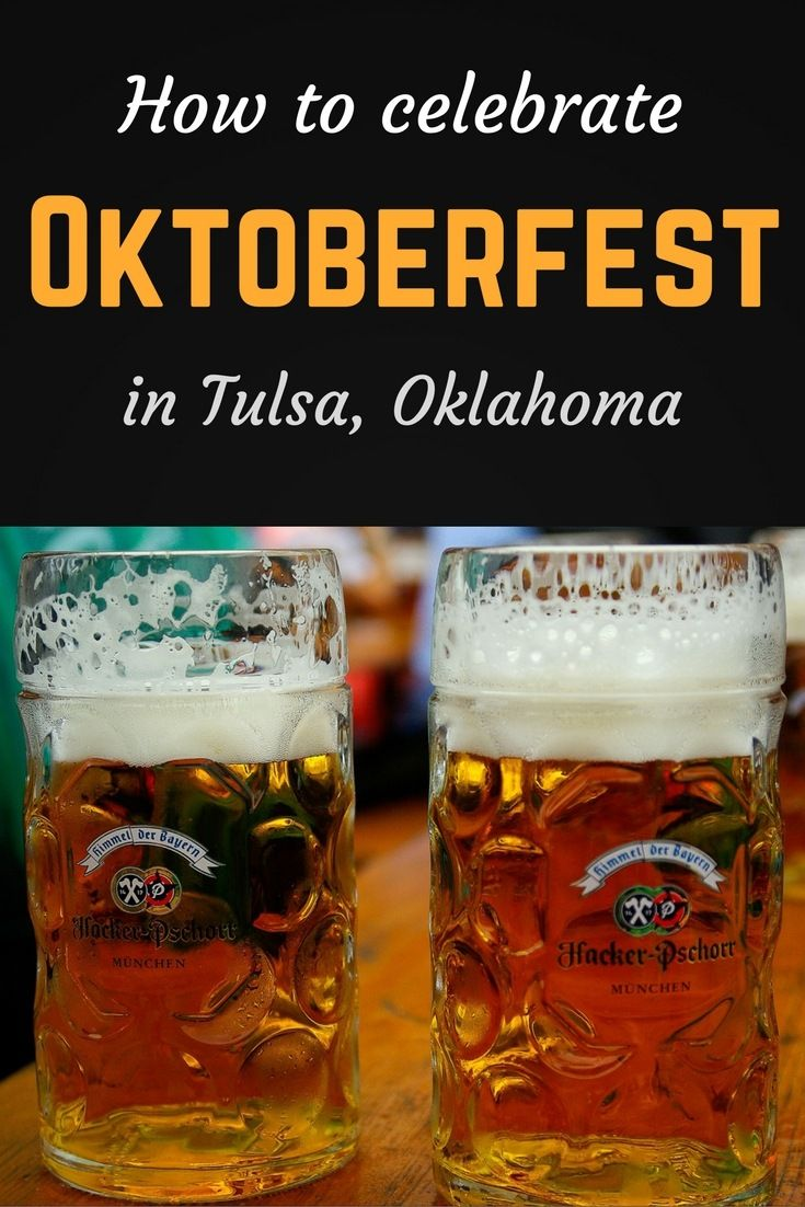 Heading to Oktoberfest in Tulsa, Oklahoma? Here's everything you need to know about the festival, including how to get there and what to drink.
