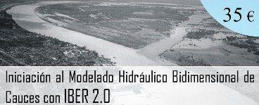 Iber es un modelo matemático bidimensional desarrollado por el Grupo de Ingeniería del Agua y del Medio Ambiente, GEAMA (Universidad de A Coruña, UDC) y el Instituto FLUMEN (Universitat Politècnica de Catalunya, UPC, y Centro Internacional de Métodos Numéricos en Ingeniería, CIMNE). Iber es un software libre (más sobre IBER).