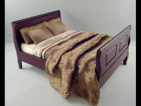 OOAK and Custom Dollhouse Dressed Furniture - YouTube