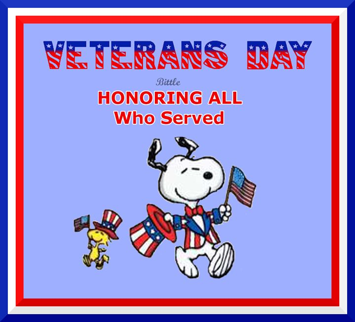 Veterans Day Snoopy !!