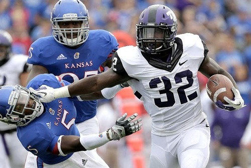 Knee injury ends season for TCU's leading rusher Waymon James - CBSSports.comJames, Colleges Football, Tcu Lead, Lead Rushers, Knee Injury, College Football, Rushers Waymon, Knee Pain, Sports Fans