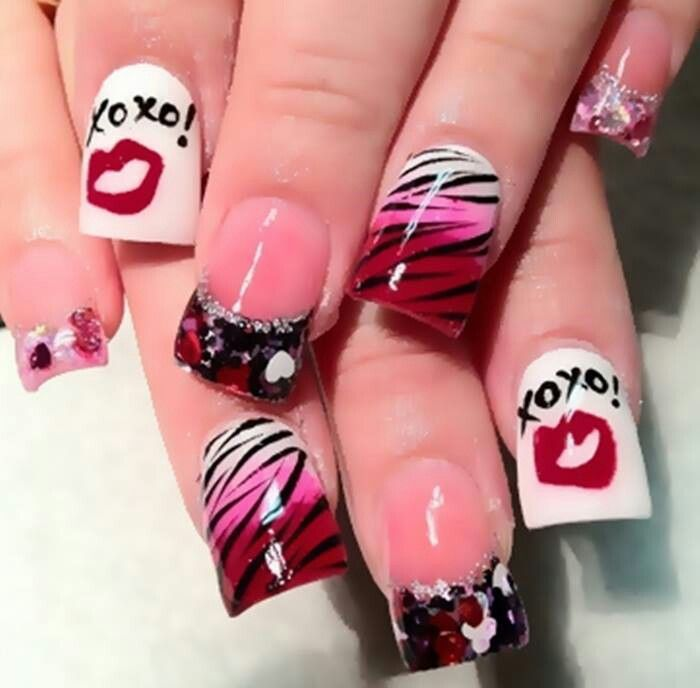 #valentines day #nails