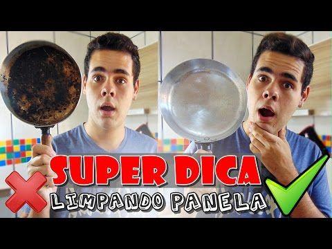 COMO LIMPAR PANELA QUEIMADA SEM ESFORÇO   Eduardo Reis - YouTube
