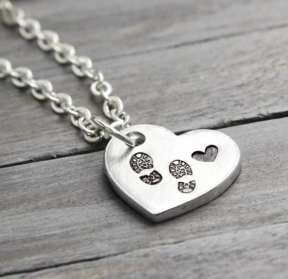 Buy Soldier Necklace, Combat Boot Necklace, Love My Soldier Necklace, Army Wife, Army Necklace, Stamped Jewelry, Handstamped Necklace, by pureimpressions. Explore more products on http://pureimpressions.etsy.com