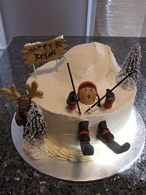 61 best Cakes Skiing images on Pinterest Skiing Cakes and
