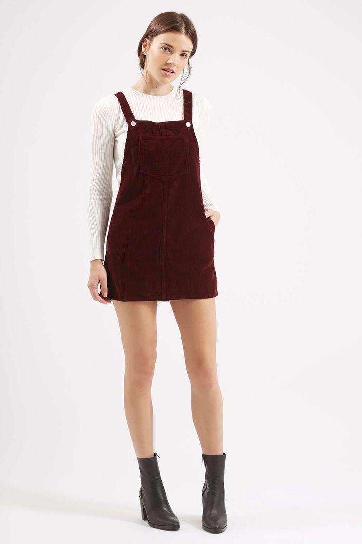 MOTO Cord Pinafore Dress // I WANT I WANT I WANT