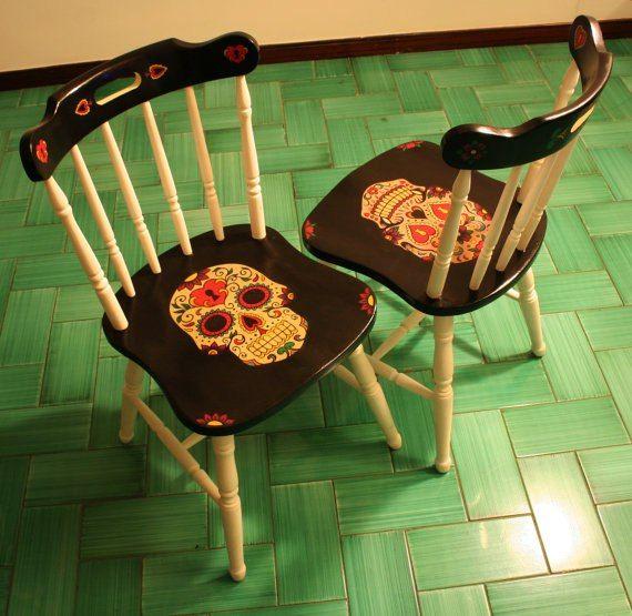 Мебель с черепами: «убийственно» стильные стулья и кресла. А что-то в этом есть! #Skullchair #кресласчерепами #черепа