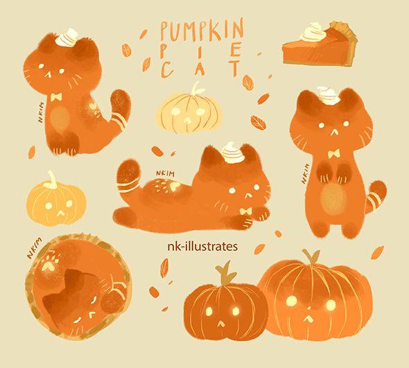 Pumpkin Pie Cat or Pumpcat pie lol.