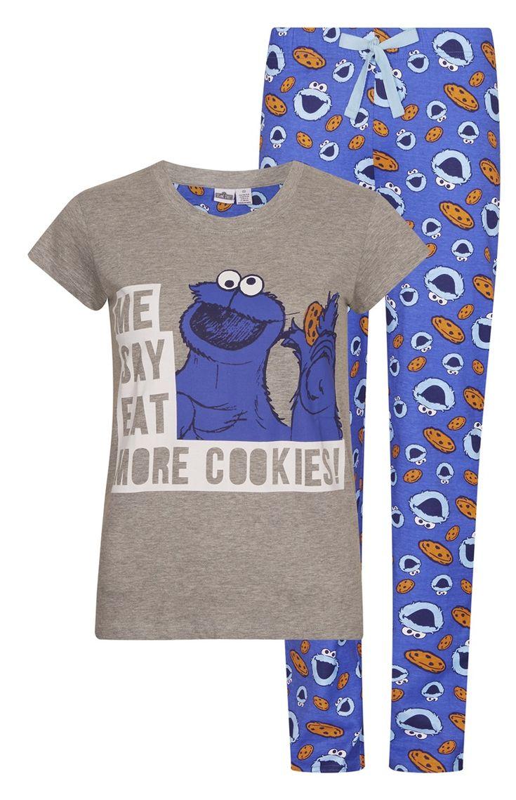 Pijama Cookie Monster