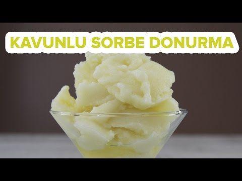 Kavunlu Dondurma - Kavun Sorbe - Tatlı Tarifleri - YouTube