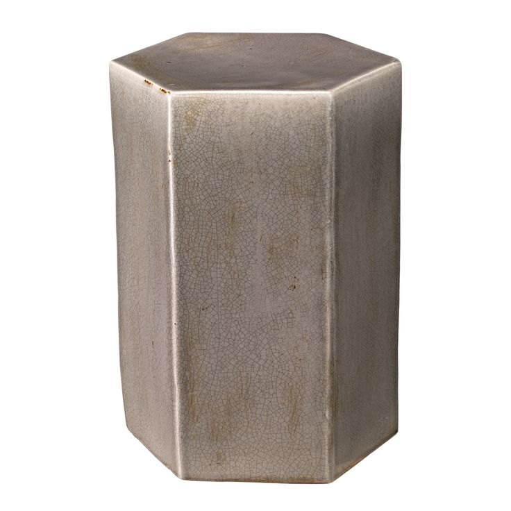 The Jamie Young Porto small side table offers a contemporary spin on a classic ceramic stool. A hexagon structure this versatile piece is glazed in ...  sc 1 st  Pinterest & 74 best ACK Bedroom 2 Side Tables images on Pinterest | Side ... islam-shia.org