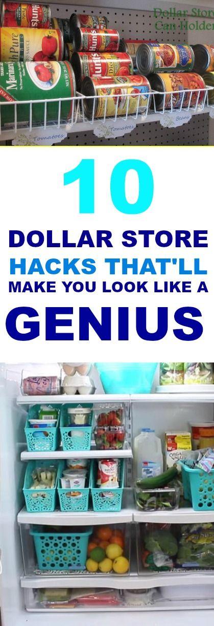 10 Dollar Store Hacks That Are Borderline Genius