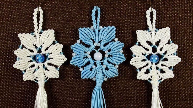 Alternate Snowflake Tutorial by Macrame School
