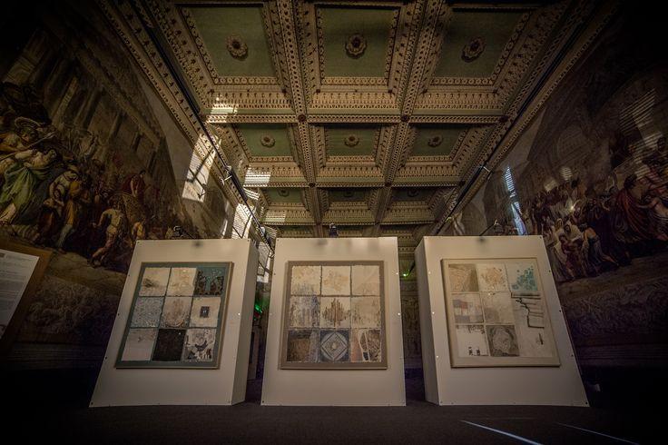 Tryptique by Elisabetta Necchio  Cartasia Art Exhibition | Palazzo Ducale Lucca | > September 4
