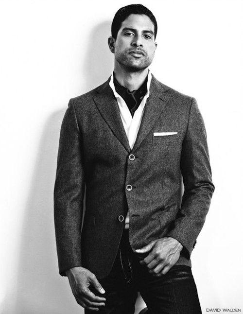 Adam Rodriguez in Urban Gentleman. (2/4)