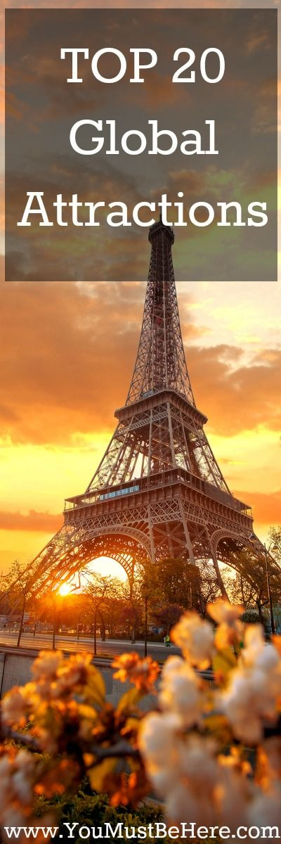TOP 20 Global Attractions