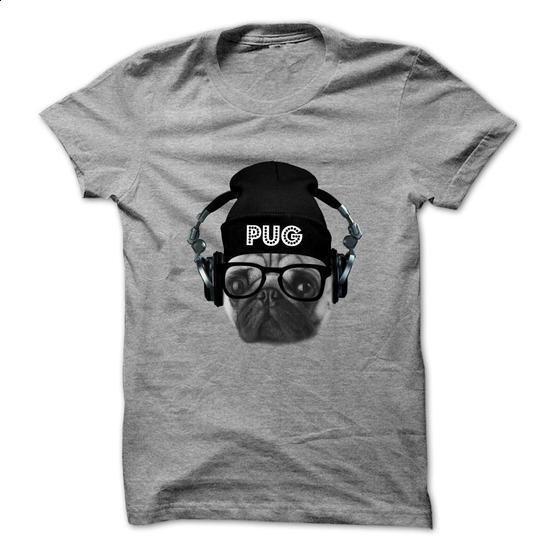 PUG Is A DJ - #funny graphic tees #hooded sweatshirt. CHECK PRICE => https://www.sunfrog.com/Pets/PUG-Is-A-DJ-64440919-Guys.html?60505