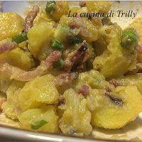 La cucina di trilly: Patate in insalata con senape Digione e panna acida